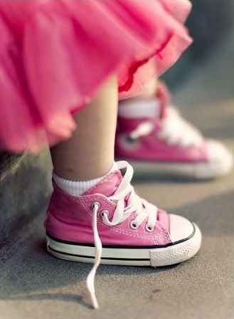 converse bambino rosa