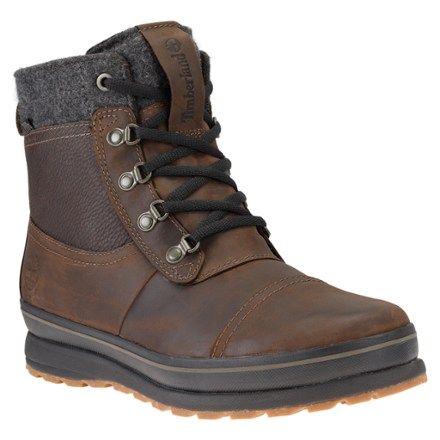 Timberland Men's Schazzberg Mid Waterproof Winter Boots Dark Brown Full  Grain 11.5