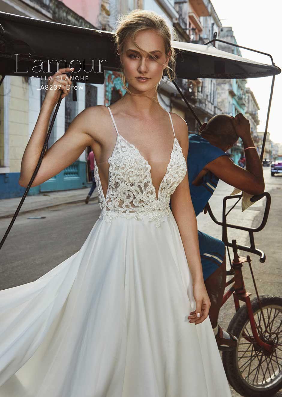 2ab0f14b01c91 L'Amour Drew   L'Amour by Calla Blanche   Wedding dresses, Dresses ...
