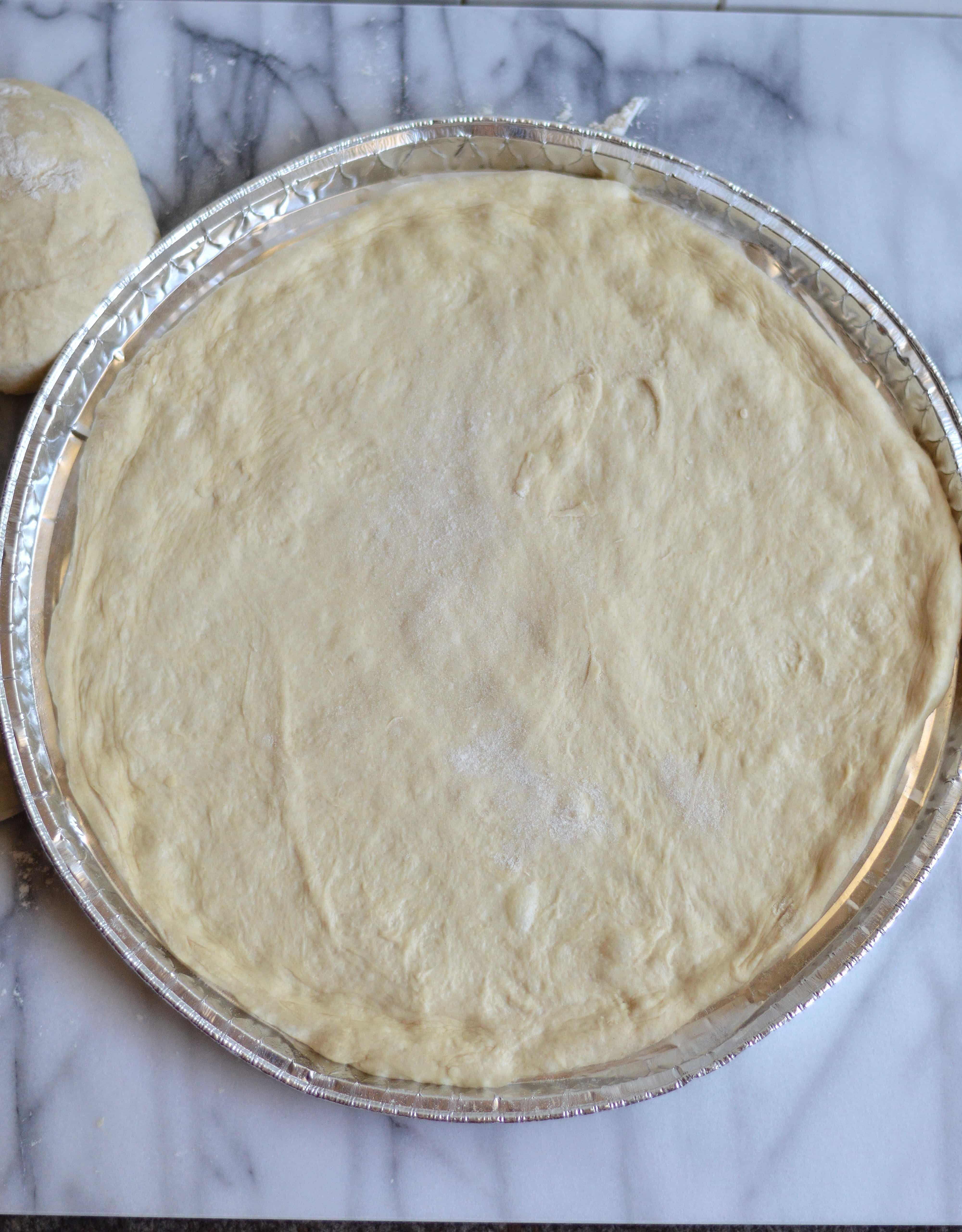 Don\'t be intimidated by making your own pizza dough, it\'s quite ...