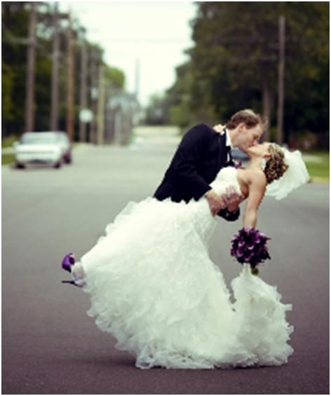 Love How The Flowers And Shoes Match Bride