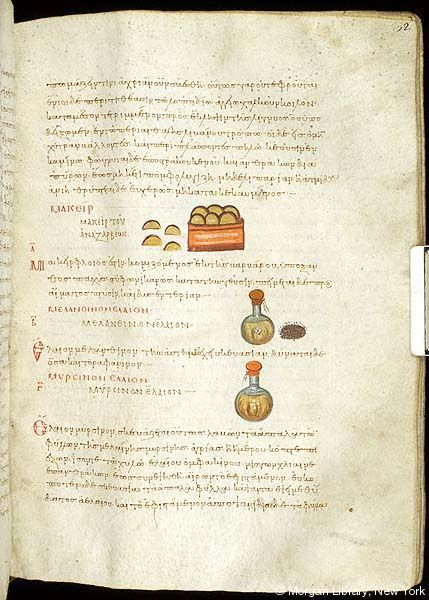 De materia medica, MS M.652 fol. 232r - Images from Medieval and Renaissance Manuscripts - The Morgan Library & Museum