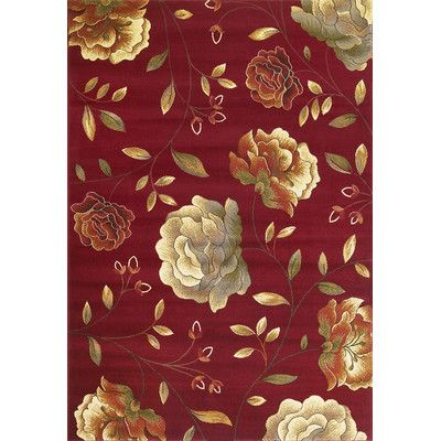 Kas Rugs Lifestyles Red Capri Area Rug Reviews Wayfair