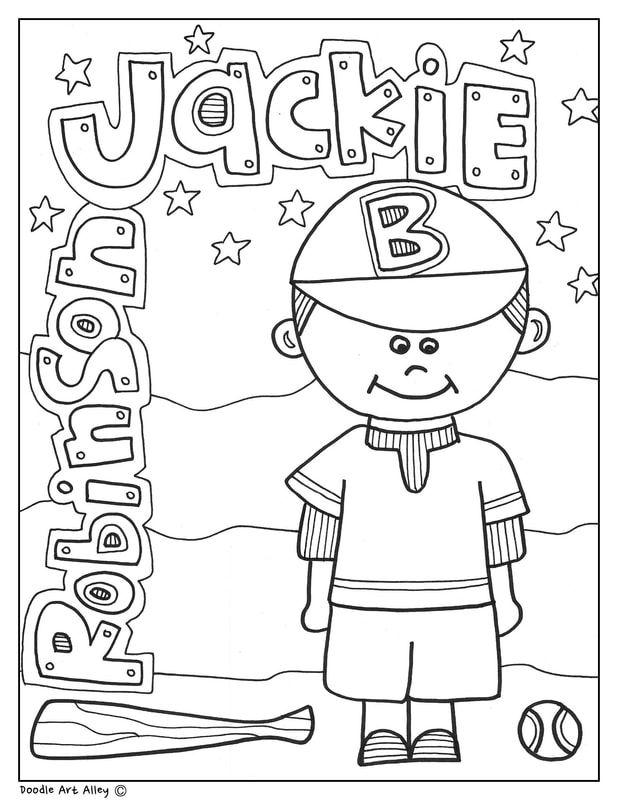 Black History Month Printables | Classroom Doodles | Black ...