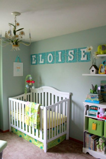 A Diy Nursery For Eloise The Whole Thing Cost Under 700 Kitchen Treaty