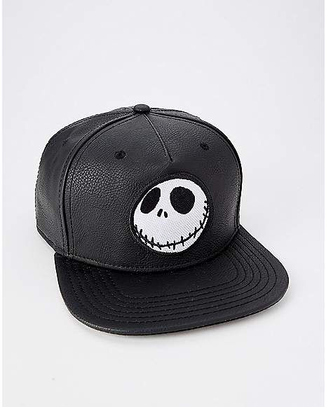 7bff36792548e Jack Skellington Snapback Hat - The Nightmare Before Christmas - Spencer s