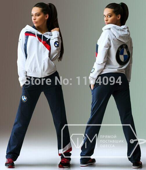 blue dp puma hoodie team bmw mens xxl set sweatsuit pants