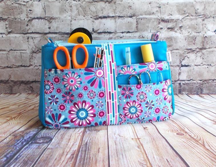 Glitzy Organizer | Craftsy | Patterns | Purse organization