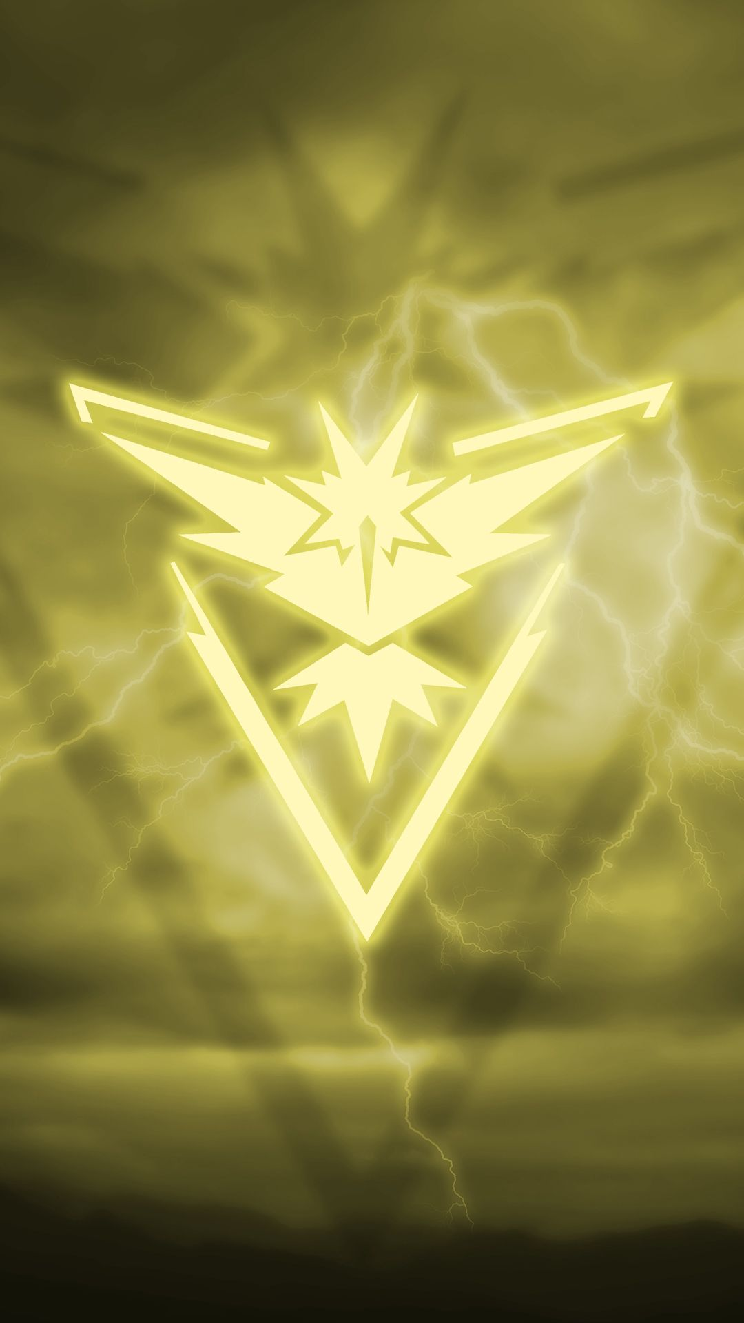 Pokemon Go Team Instinct Wallpaper 1080x1920 Need Iphone 6s