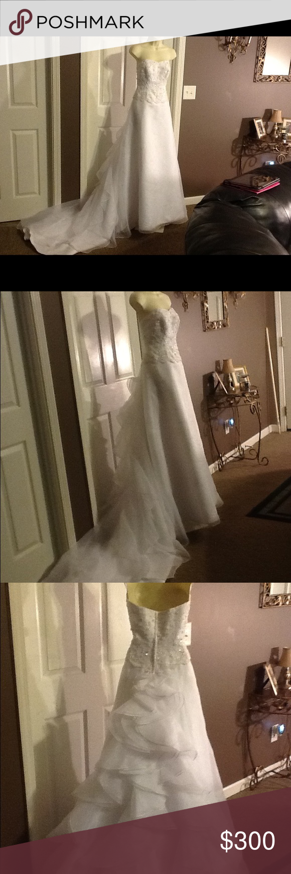 Additional photos of the wedding dress size wedding dress