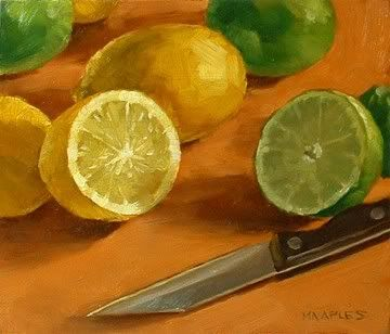 Lemon Lime Battle by Michael Naples