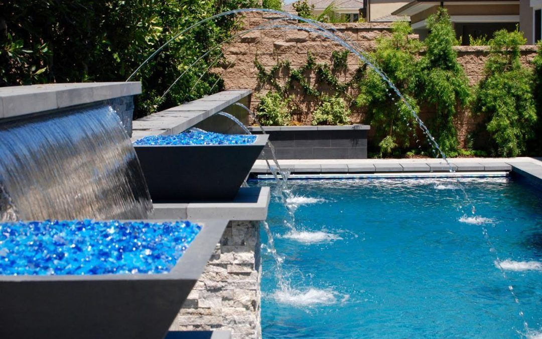 Swimming Pool Water Features Ideas Pool Water Features Swimming