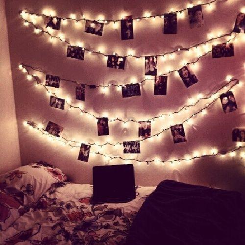 Lights  Pictures String Lights \u003c3 Indoors Pinterest Picture