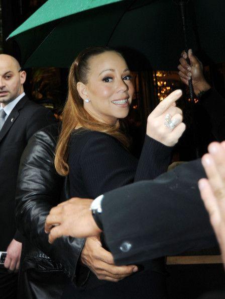 66caa99b64c Mariah Carey Photos Photos  Mariah Carey Leaves Her Paris Hotel ...