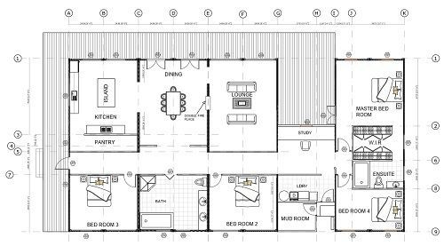 8 X 40ft Four Bedroom Container Home Andejong Design Container