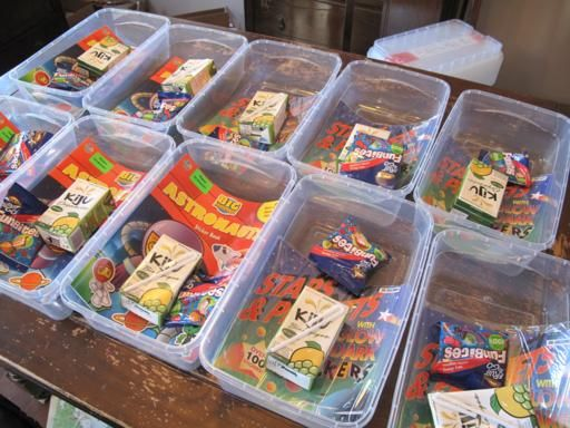 Open Thread Friday Birthday treat bags Birthday treats and