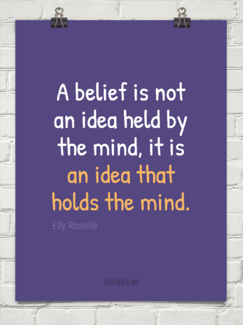 ... the mind, it is an idea that holds the mind. by Elly Roselle #106926
