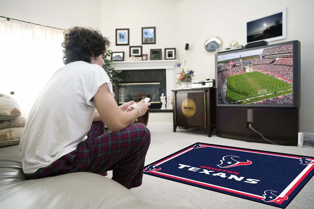 Football Fan Sports Team Area Rug Houston Texans 4