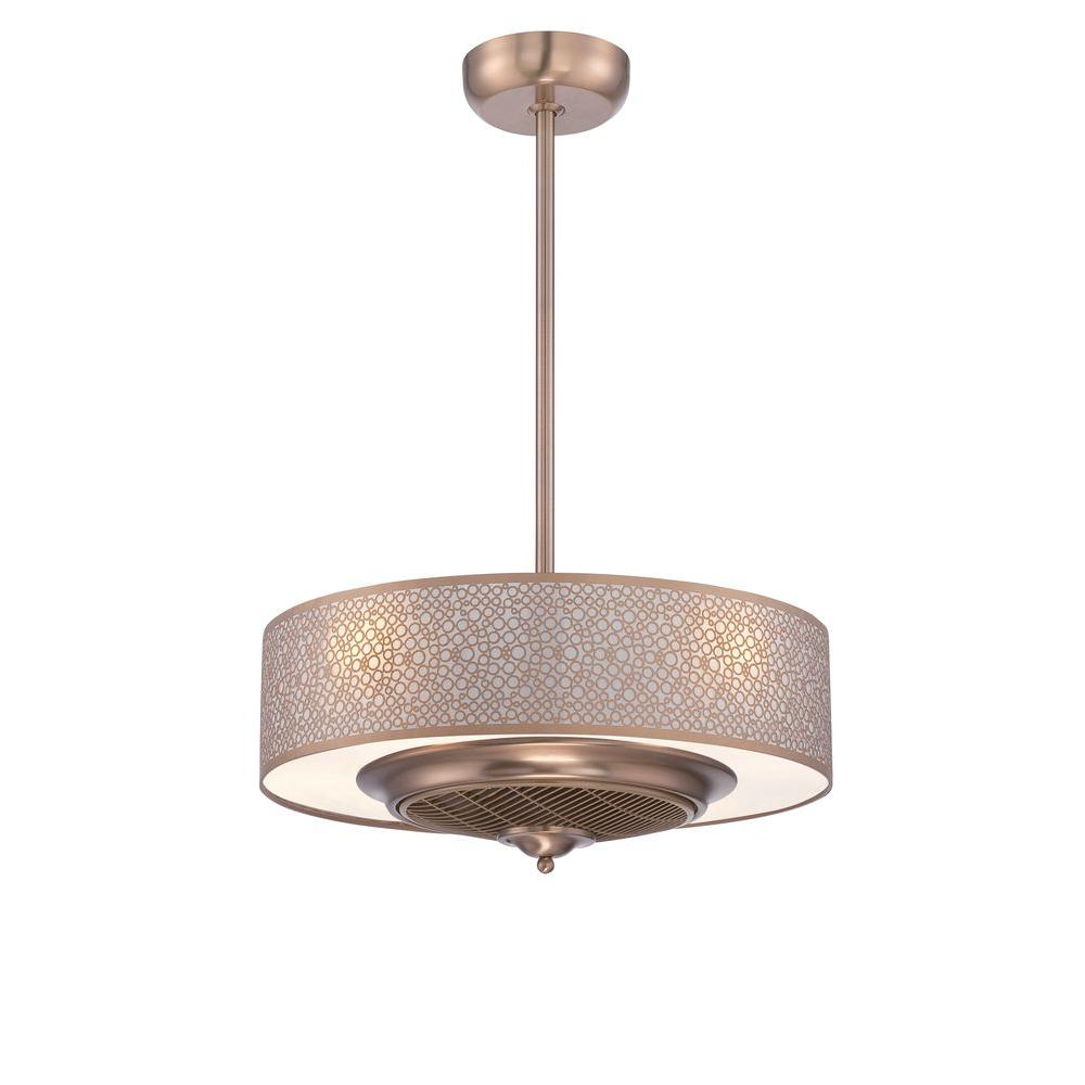 World Imports Cozette Collection 24 in. Indoor Satin Copper Ceiling ...