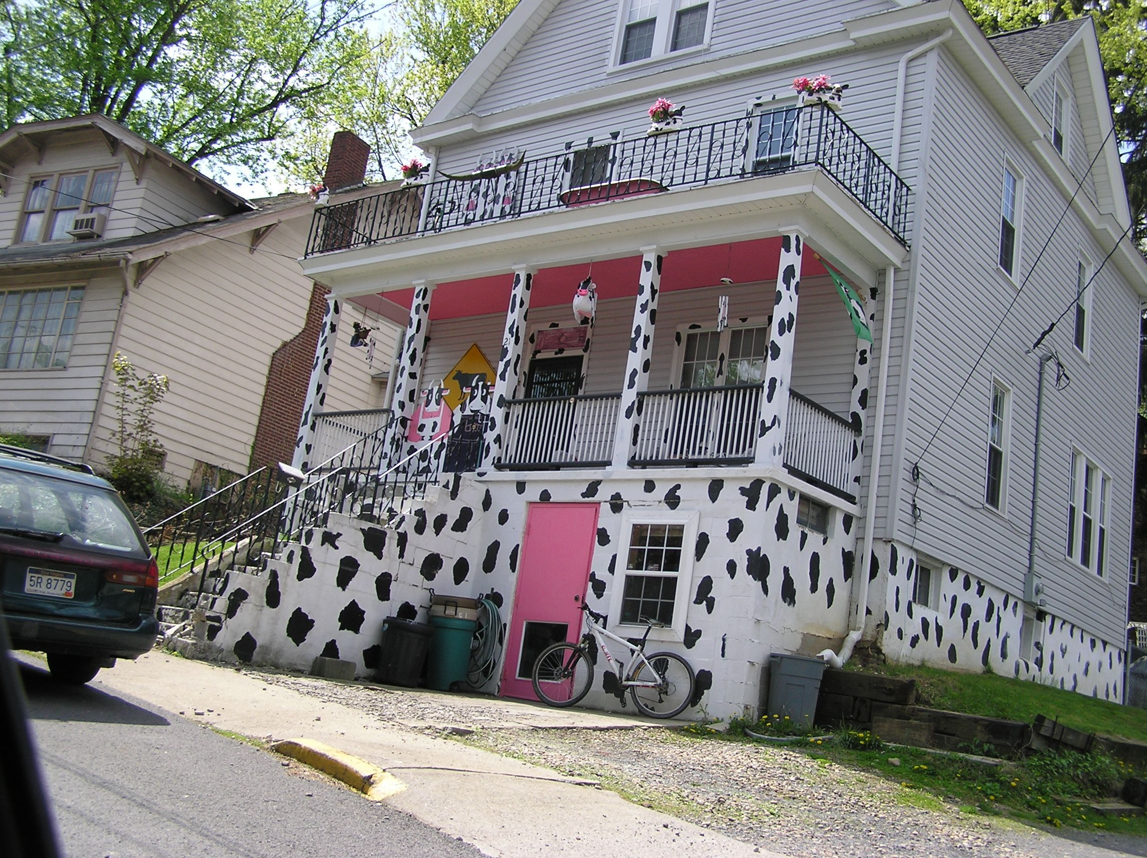 "In Morgantown WV there is a place refered to as ""The Cow House"