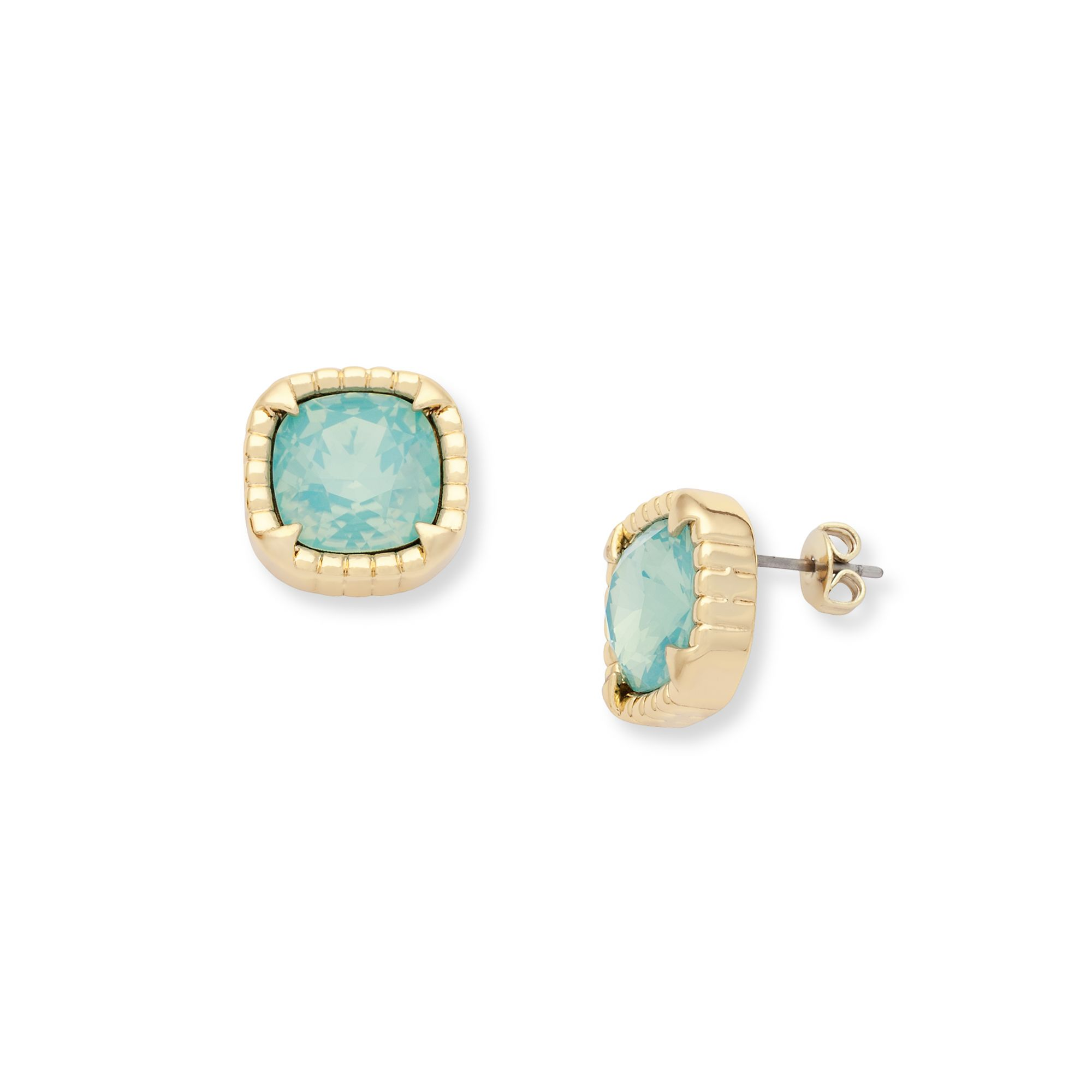 aaa larimar blue set store earrings opal stud bezel