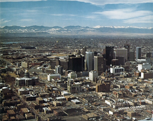 15 Photos That Show Just How Much Colorado Has Changed And How Much It Hasn T Denver History Denver City Colorado