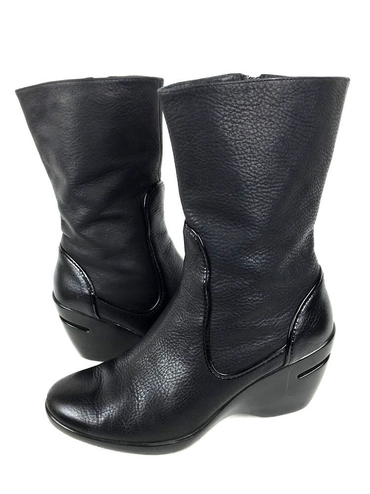 Cole Haan Nike Air Wedge Boots