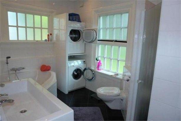 Wasmachine Kast Badkamer : Kast voor wasmachine en droger op elkaar