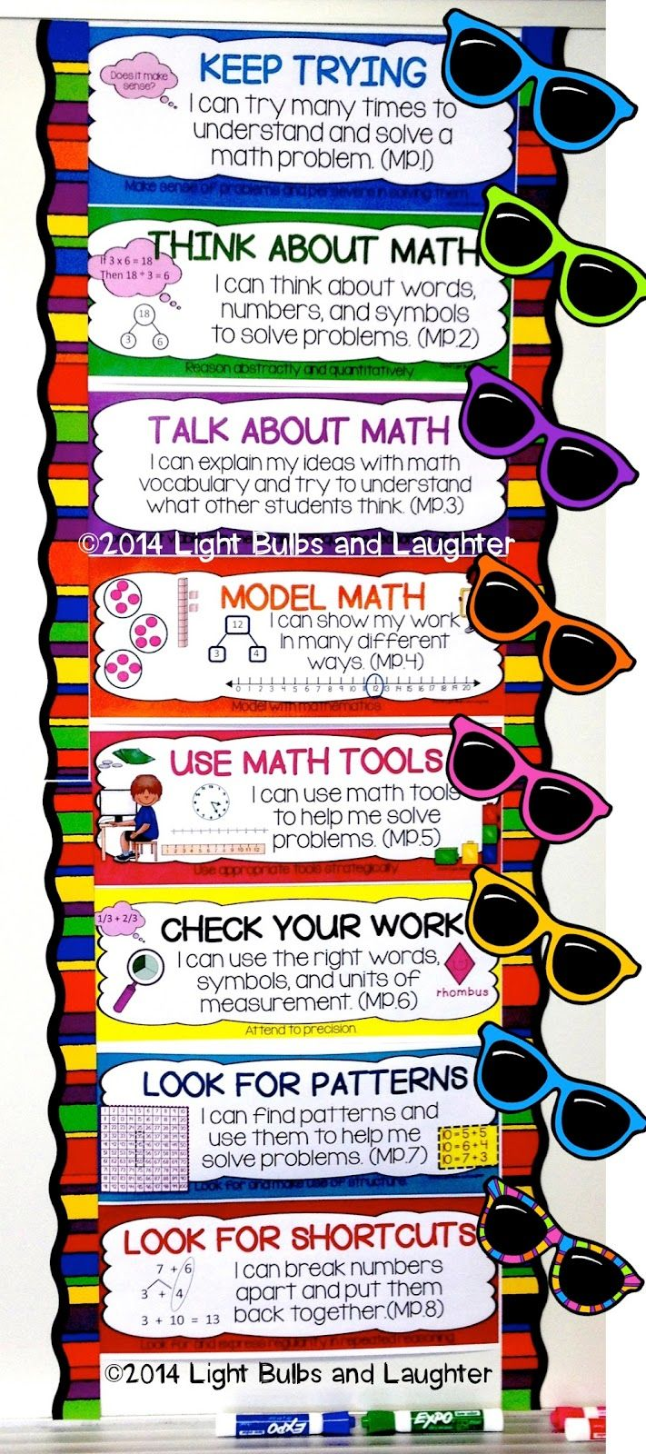 Why I Love Common Core Math - 8 Standards for Mathematical Practice ...