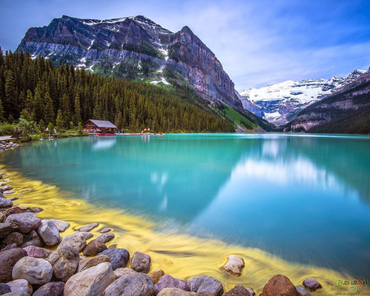 صور مناظر طبيعية خلابة اجمل مناظر الطبيعة مناظر طبيعية جميلة 14 Lake Beautiful Forest Free Food