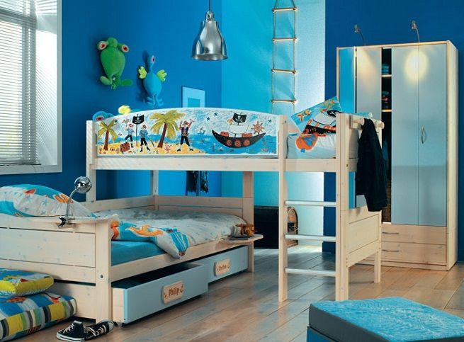 Decorar la habitación compartida para los niños | Home Sweet Home ...