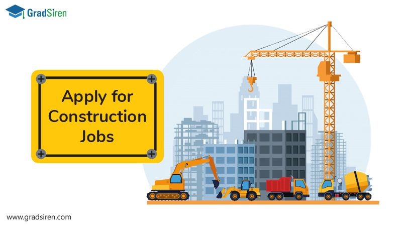 Entrylevel construction engineer jobs are available at