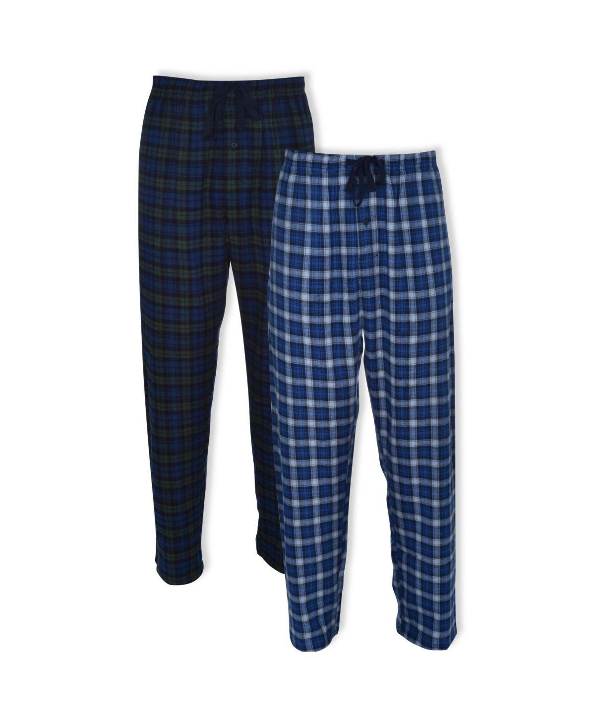 Hanes Mens Big and Tall Flannel Lounge Pajama Pants