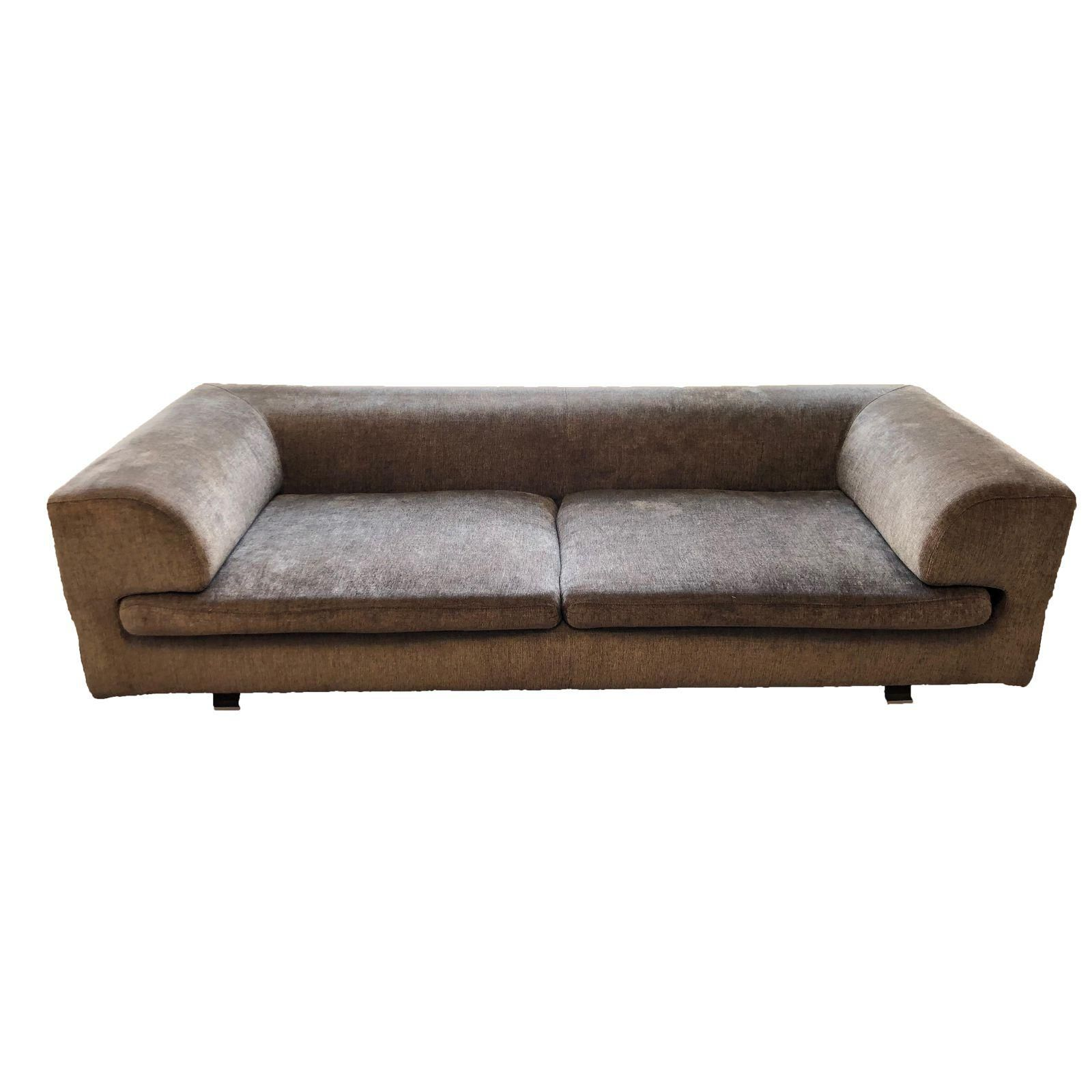 Roche Bobois Elixir Model Upholstered 4 Seat Sofa When There S No