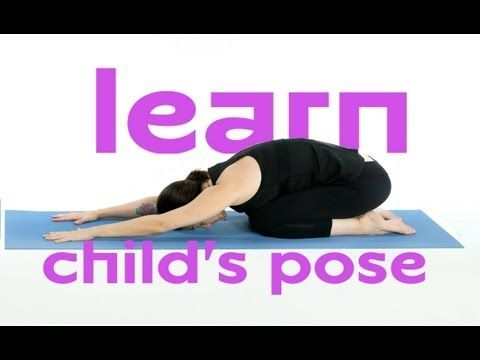 coming back to child's pose is the perfect way to pause