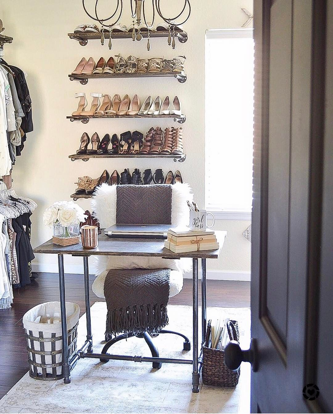 Spare Bedroom Converted To Boutique Style Dream Closet