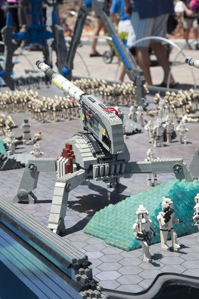 Star Wars Miniland Star Wars Legoland Lego Star Wars Lego