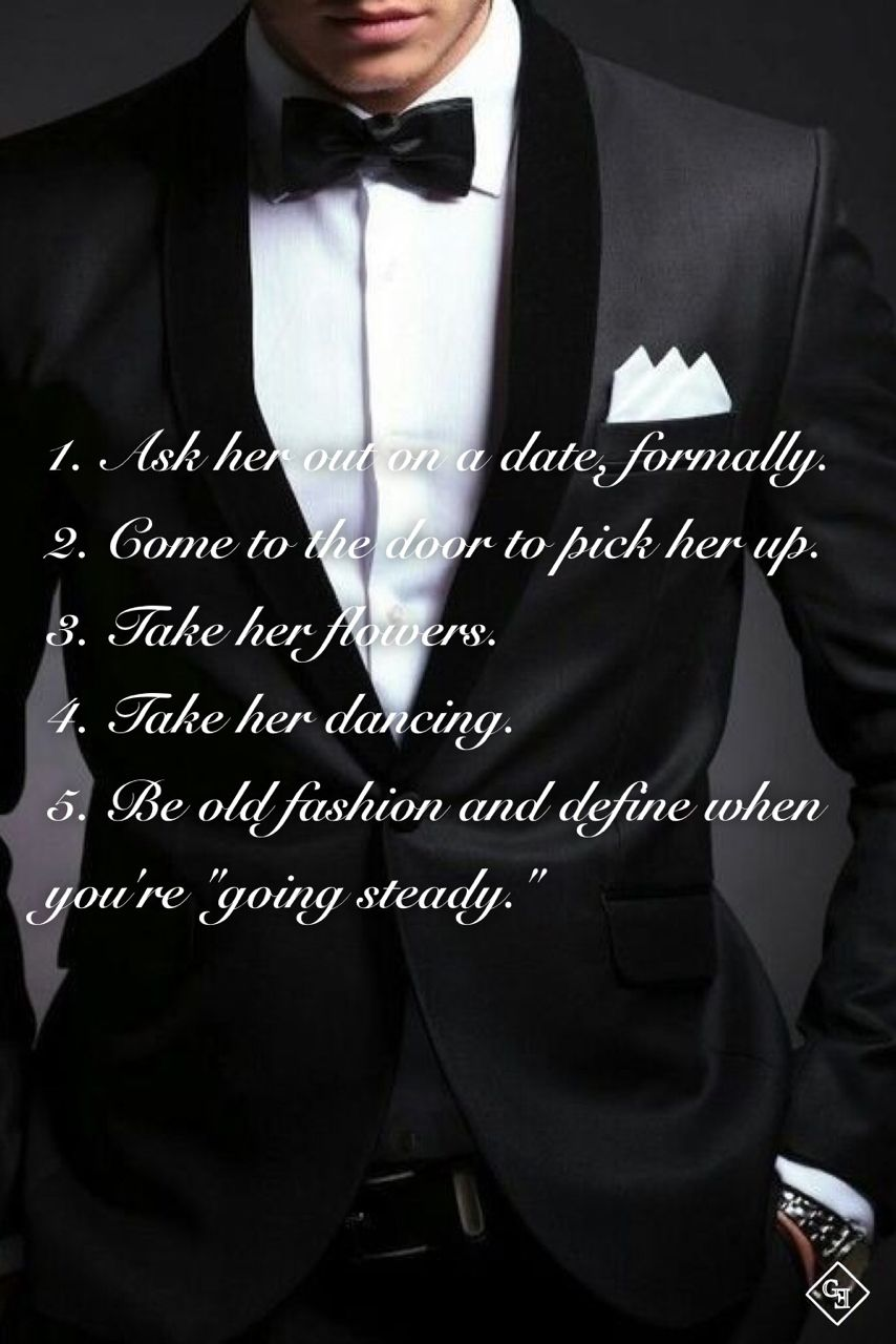 Dating en gentleman citat