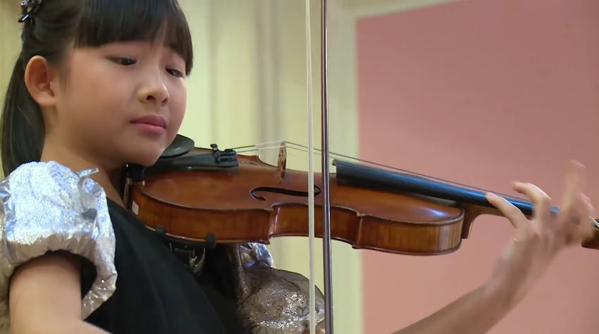 Chloe Chua Plays Ludwig Van Beethoven Astor Piazzolla Jeno Hubay Menuhin Competition 2018 Junior Semi Final Young Musician Violin Student Music Festival