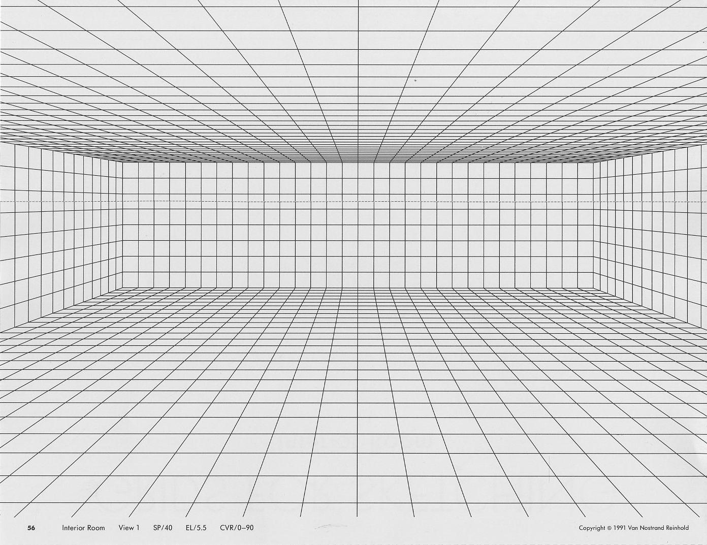 Image result for room perspective grid for Room grid