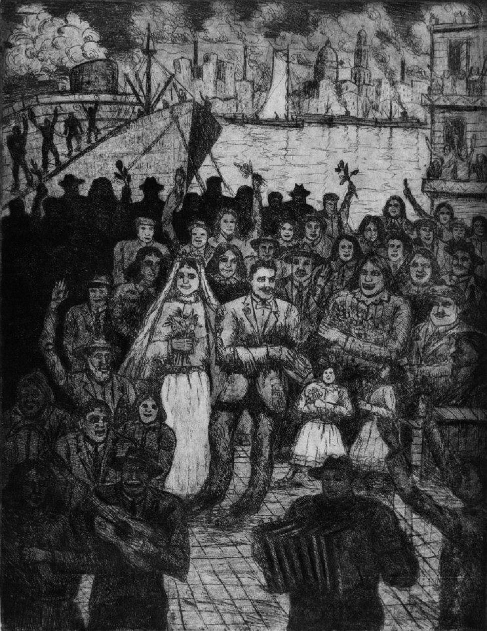 Resultado de imagen de Benito Quinquela Martín casamiento