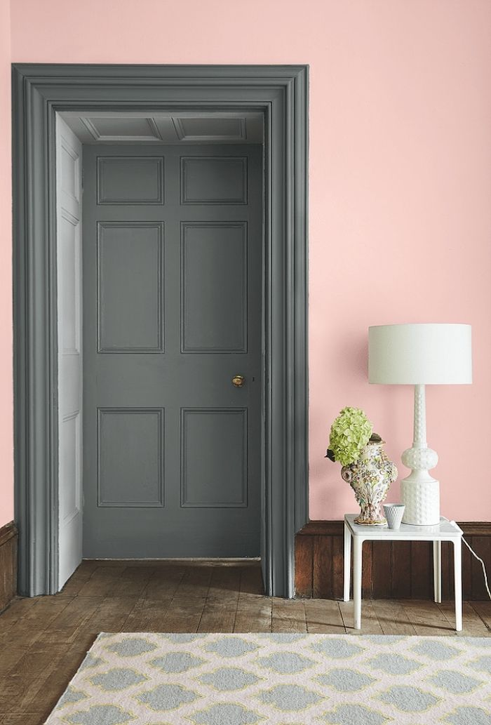 1001 id es originales comment peindre une porte int rieure design d int rieur peinture de - Decoration encadrement porte interieur ...