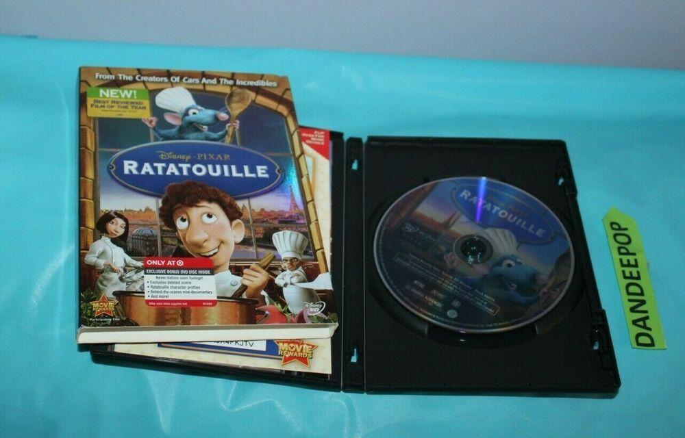 Ratatouille (DVD) Target Disney Movie Exclusive #ratatouille