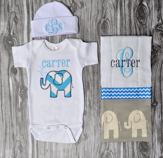 Gray and navy modern elephant baby gift set by chesapeakebayby gray and navy modern elephant baby gift set by chesapeakebayby negle Images
