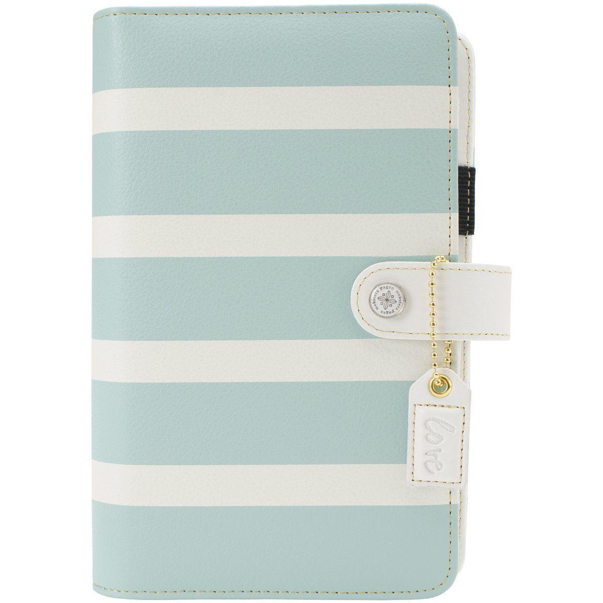 Color Crush Personal Planner Kit-Teal & White Stripe: Amazon.de: Küche & Haushalt