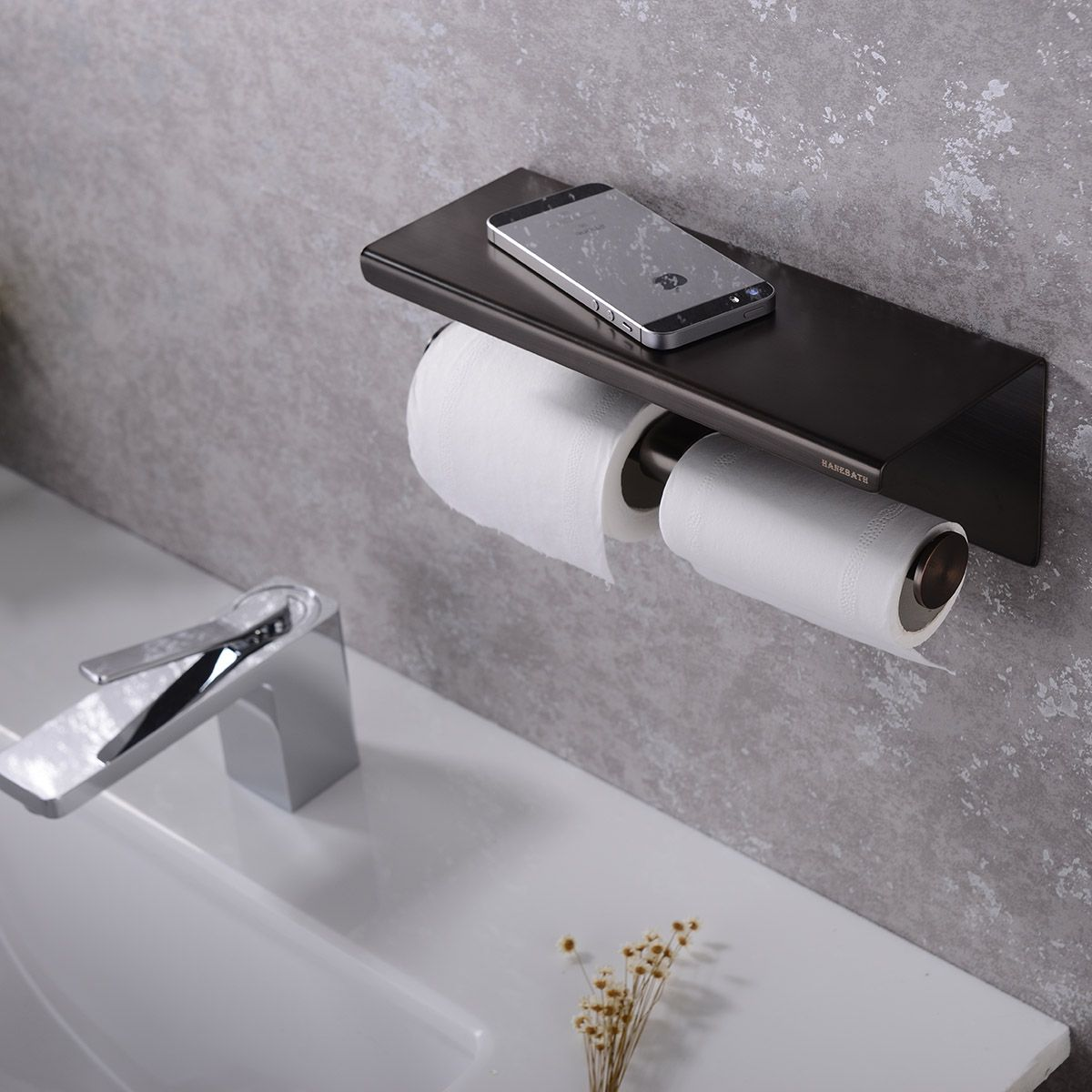 Wall Mounted Double Toilet Paper Roll Holder With Shelf Oil Rubbed Bronze Toilet Paper Roll Holder Toilet Paper Toilet