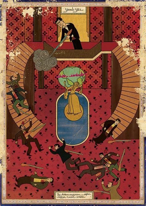 Se i classici del cinema fossero antiche miniature ottomane: Scarface