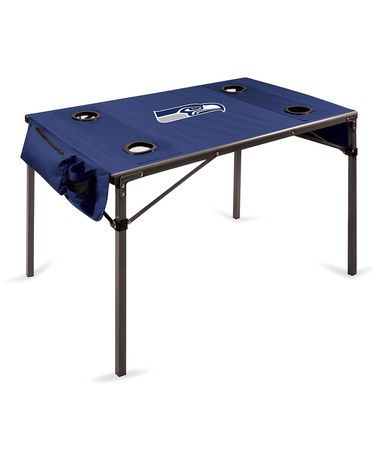 Look what I found on #zulily! Seattle Seahawks Travel Table #zulilyfinds