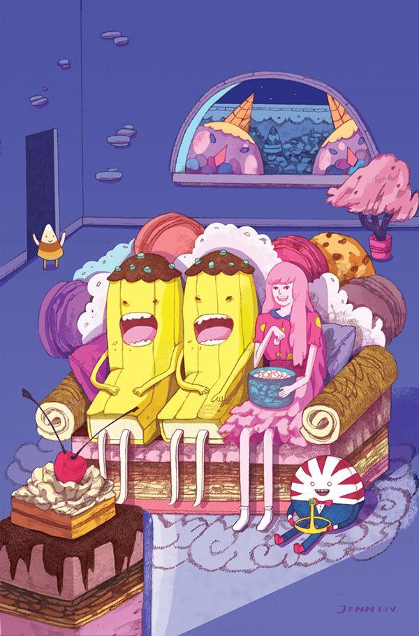 BOOM! Adventure Time: Banana Guard Academy Alt. Cover on Behance ...