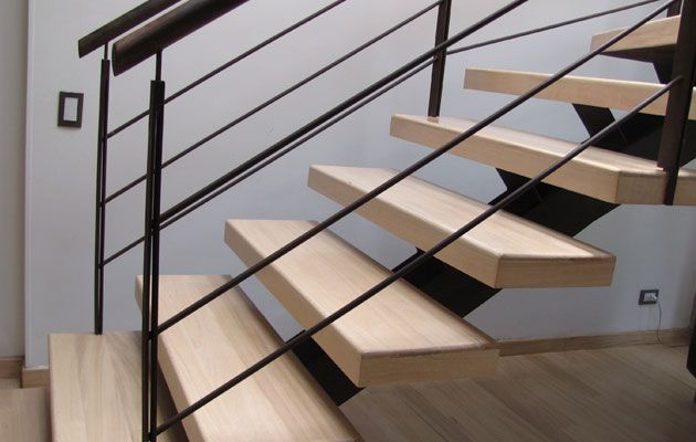 Escaleras - pisos teka parte de mi Pinterest Pisos laminados - decoracion de escaleras